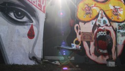 Glastonbury Graffiti