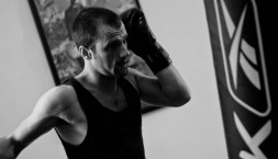 Ciaran Griffiths aka Mickey Maguire boxing, Manchester 2011