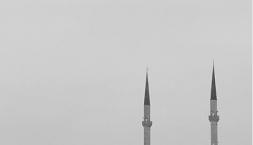 Ankara- a lone Mosque